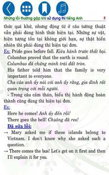 Mistakes in English Tenses apk screenshot