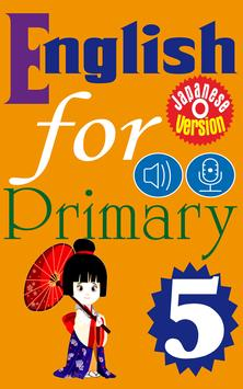 English for Primary 5 Ja poster