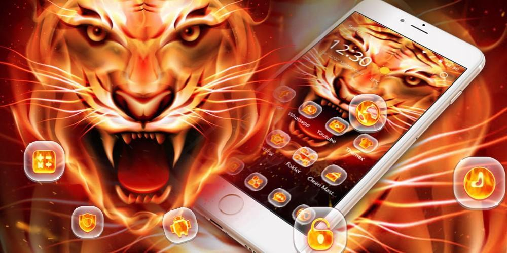 Fire Tiger Wallpaper Apk 1 1 13 Download For Android Download Fire Tiger Wallpaper Apk Latest Version Apkfab Com