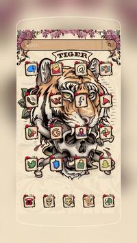 Tiger Tattoo Skull screenshot 1