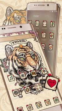 Tiger Tattoo Skull screenshot 2