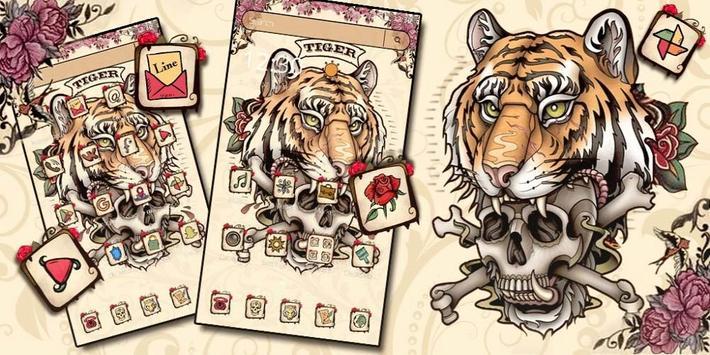 Tiger Tattoo Skull screenshot 3