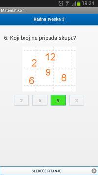 Matematika za klince - 1 apk screenshot