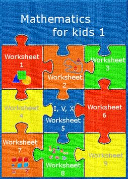 Mathematics for kids 1 poster