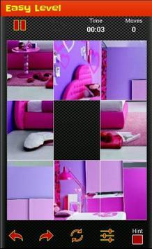 tile puzzle girls  bedroom ♠ screenshot 1
