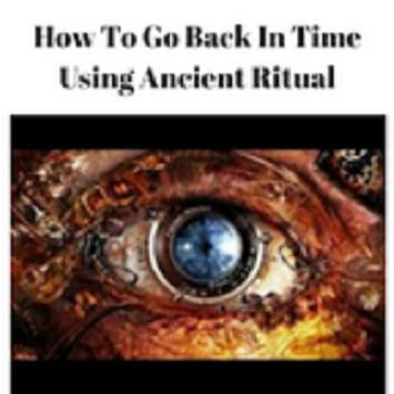Time Travel-Using an Ancient Ritual poster