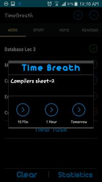 TimeBreath:To-Do lists & Notes apk screenshot