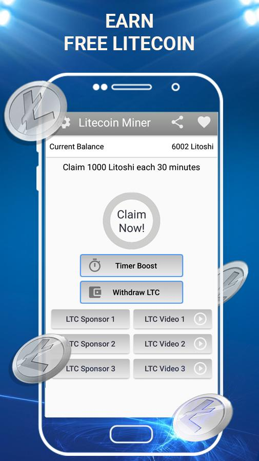 Free Litecoin Mining - Fast Payout to LTC Wallet para Android - APK