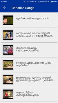 Christian Songs Malayalam الملصق