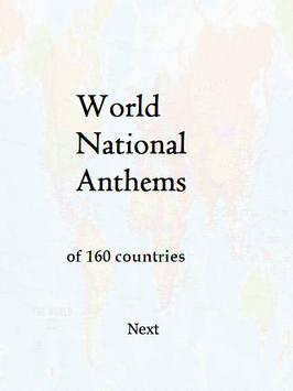160 National Anthems screenshot 1