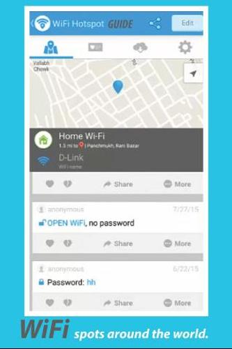 Tip WiFi Map Free Passwords الملصق ...