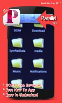 Tips Multi Accs Parallel Space apk screenshot
