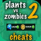 Cheat For Plants Vs Zombies 2 Prank! icon