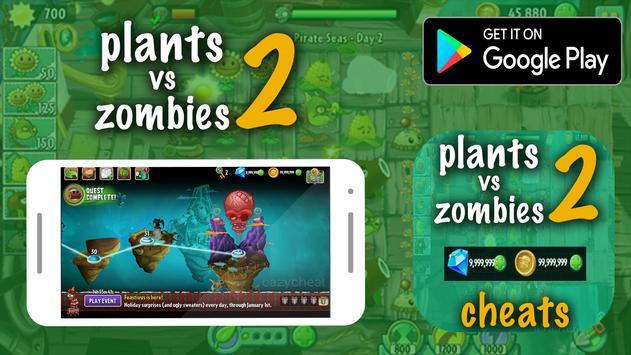 Cheat For Plants Vs Zombies 2 Prank! screenshot 2