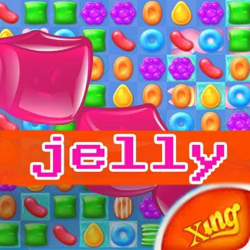 New Candy Crush Jelly Tips poster