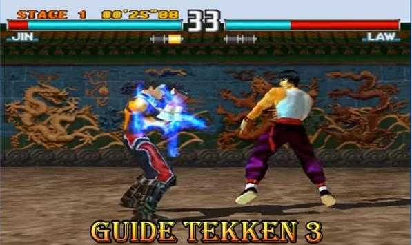 Tips of Tekken 3-5-7 poster