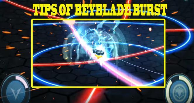 Tips of BEYBLADE BURST poster