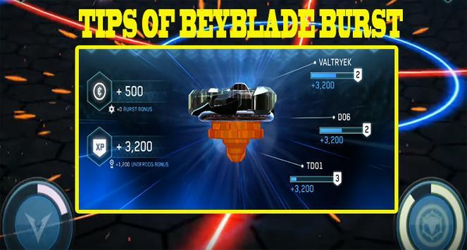 Tips of BEYBLADE BURST screenshot 2