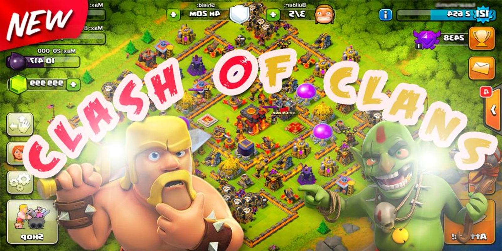 clash of clans games download