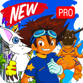 New Digital World Digimon Game 2017 Tips icon