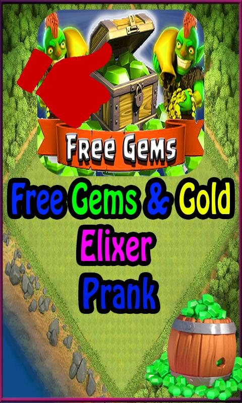 Free Gems Clash Of Clans Prank For Android Apk Download