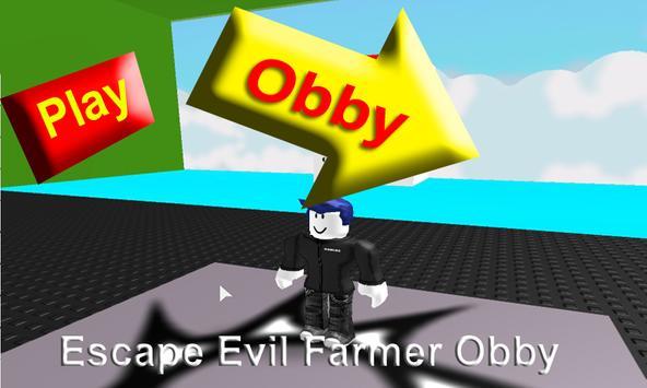 Hints Escape Evil Farmer Obby apk screenshot