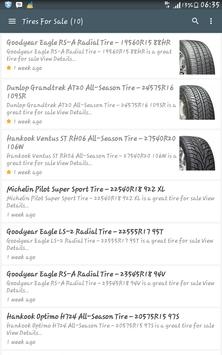 Tires For Sale screenshot 1