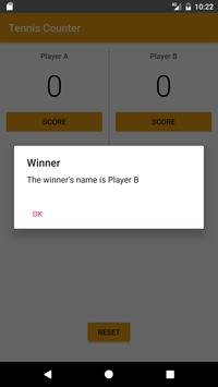 TennisCounter (Unreleased) apk screenshot