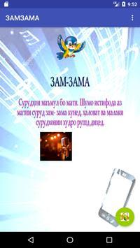 ЗАМЗАМА poster