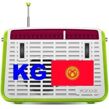 Kyrgyzstan online radio poster