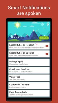 Butler - Smart Notifications apk screenshot