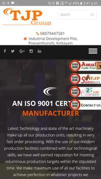 TJP Rubber Industries poster