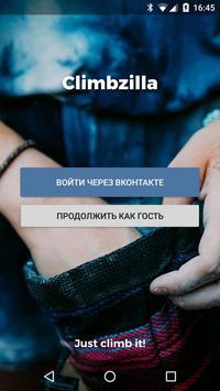 Climbzilla poster