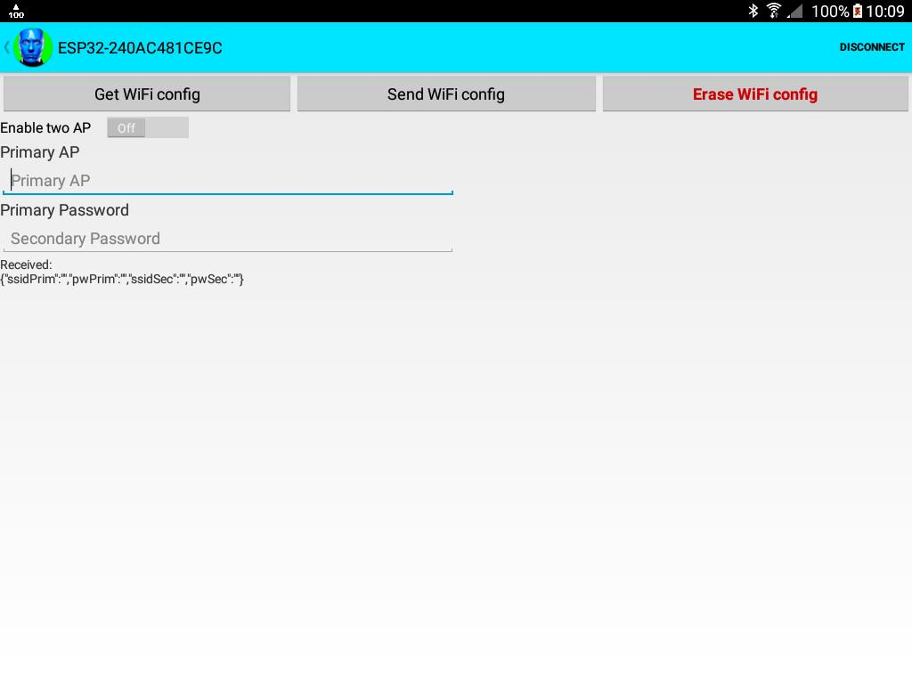 ESP32 WiFi setup over BLE or Bluetooth Serial for Android - APK Download