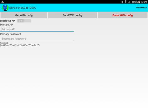 ESP32 WiFi setup over BLE or Bluetooth Serial screenshot 7
