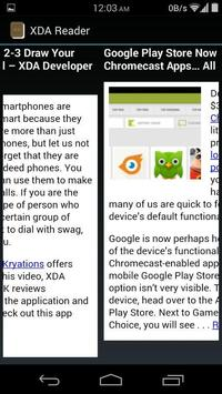 XDA Reader apk screenshot