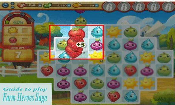 Guide ; play Farm Heroes Saga poster