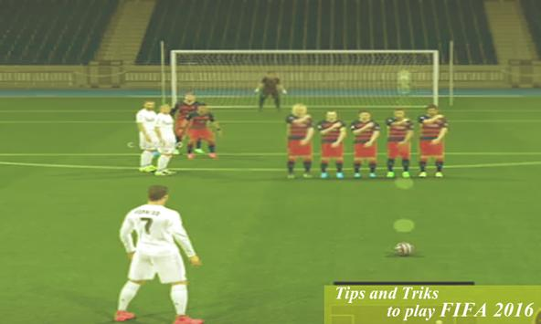 Tips:to play FIFA 2016 poster