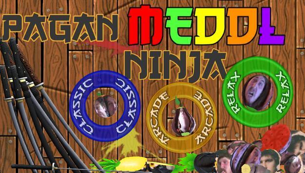 Meddl Pagan Ninja poster