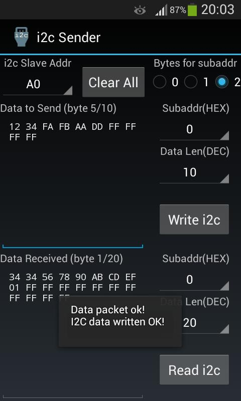 i2c Sender for Android - APK Download