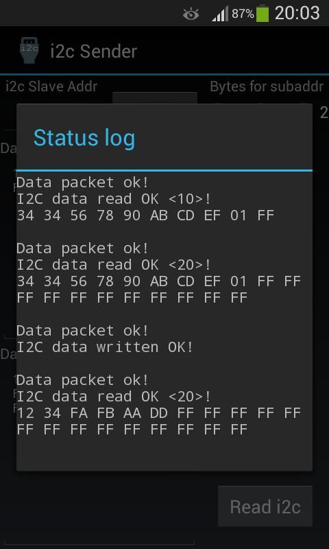 i2c Sender for Android - APK Download