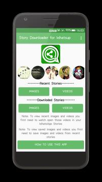 Story Downloader for Whatsup poster