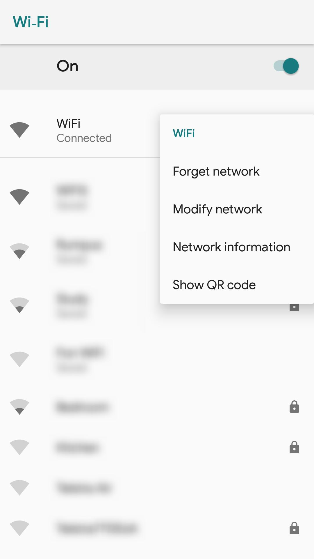 ROOT] Wifi QR Code Creator & Info (+ xposed) for Android