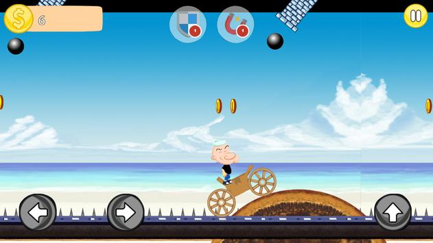 The Sailor Man Adventure apk screenshot