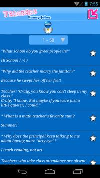 Teachers Funny Jokes apk screenshot