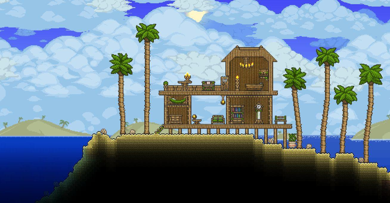 Terraria Simple House Design For Android Apk Download