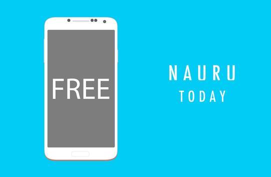 Nauru Today poster