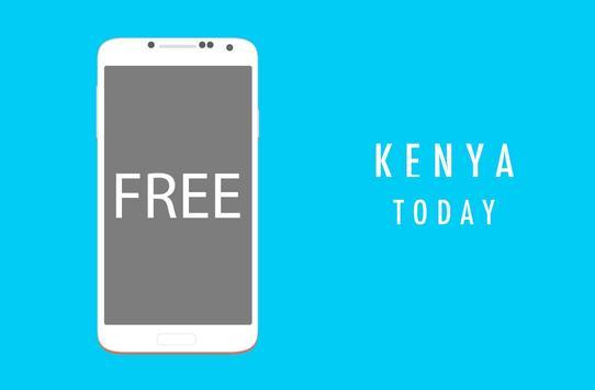 Kenya Today : Breaking & Latest News poster