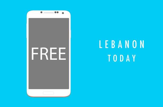 Lebanon Today : Breaking & Latest News poster