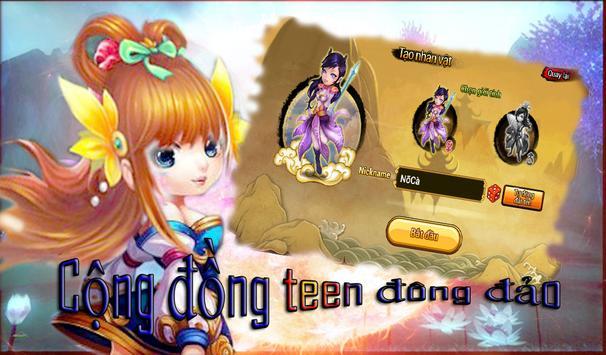 Teen Teen Du Ky Gunbound 2015 apk screenshot